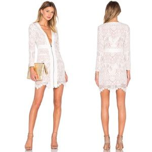 NWT NBD x Revolve Victoria Lace Dress